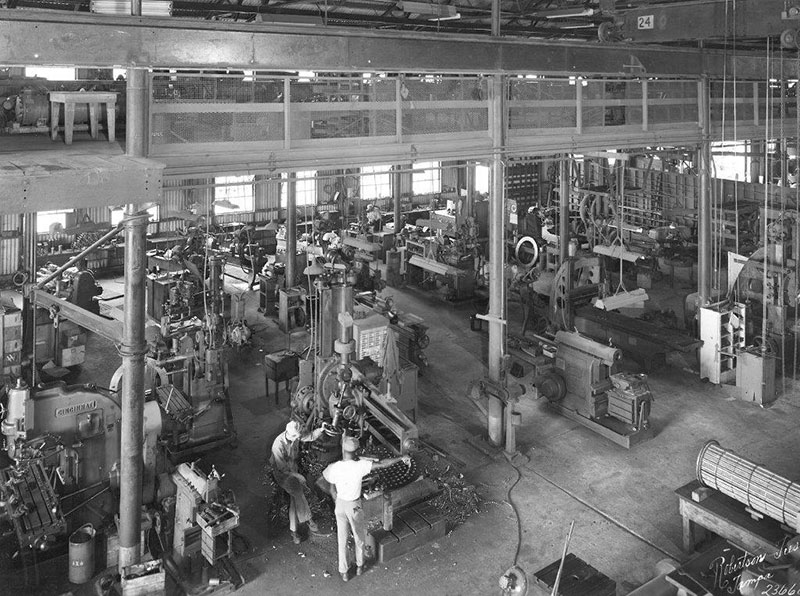 Hendry Corporation Machine Shop at Westhore