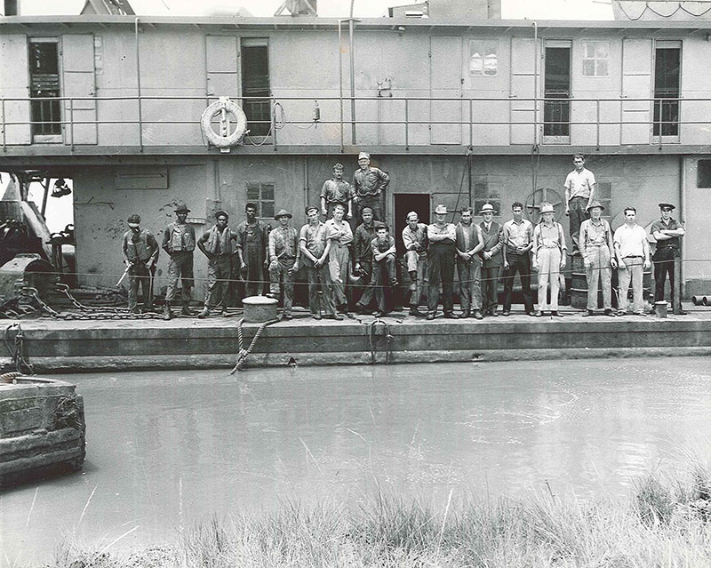 Dredging Crew - Bay City, Texas
